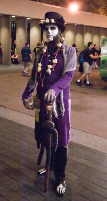 Even the Baron made the trek from New Orleans for DragonCon this year.