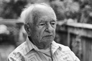 Grandpa Jack Barnett a few days before his passing in 2007.