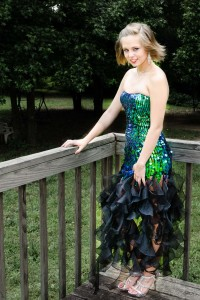 Kerstin didn't get photos at the prom so we shot them at home instead.